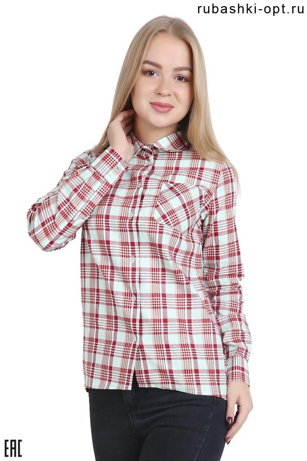 Женские рубашки с длинным рукавом