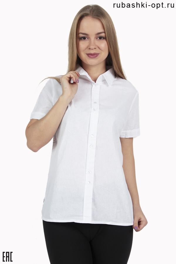 Женские рубашки с коротким рукавом