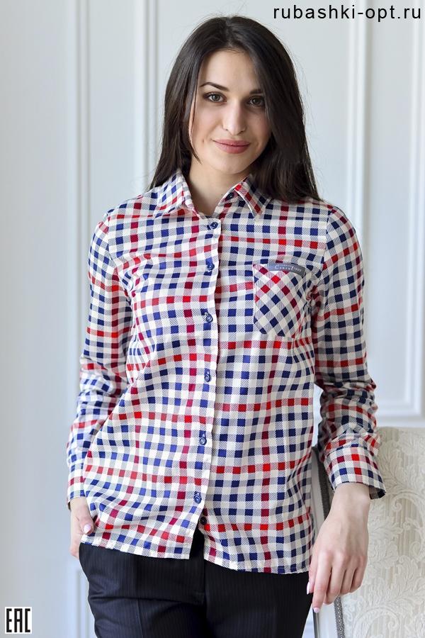 Рубашки женские оптом