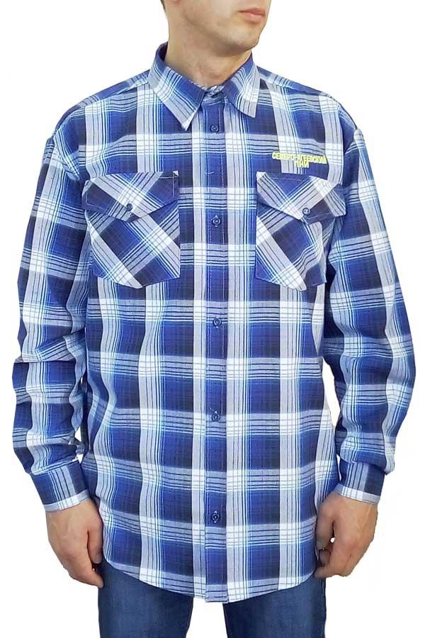 Рубашка мужская корпоративная с эмблемой