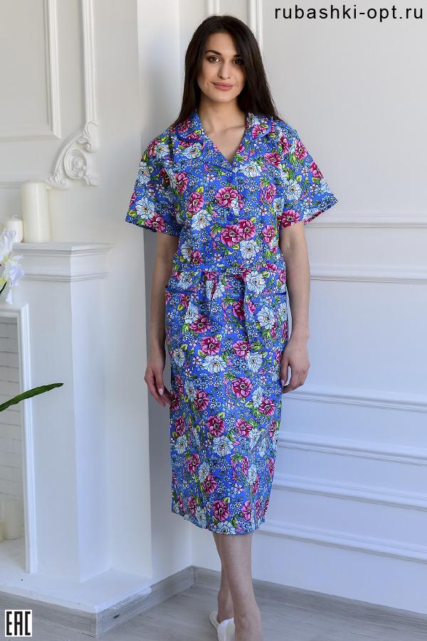 Платье женское бязевое