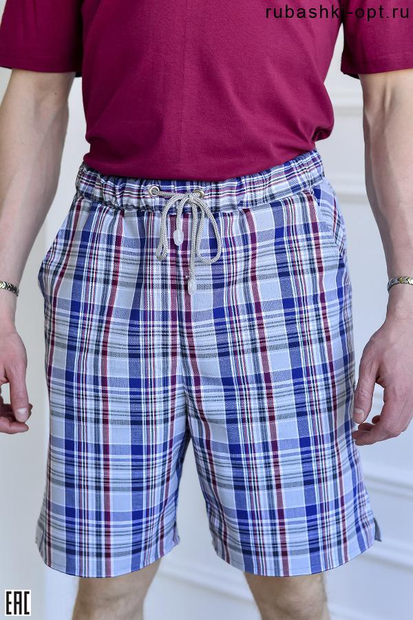 Мужские шорты, клетка, модель 03