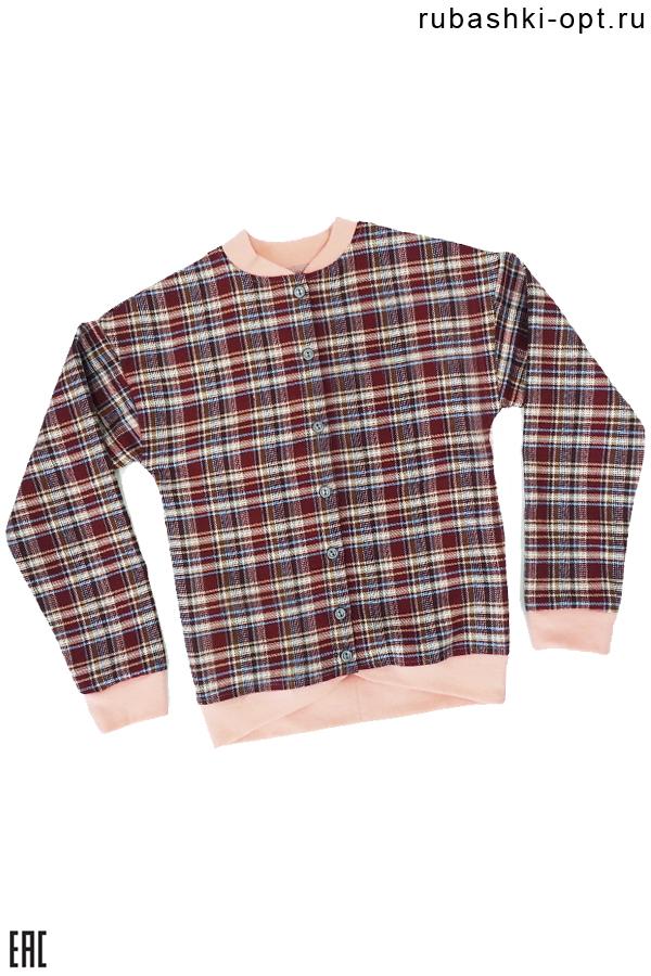 Рубашка детская, подростковая для девочки, модель 03
