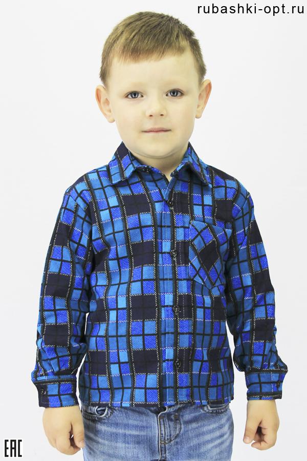 Рубашка детская, подростковая, фланель