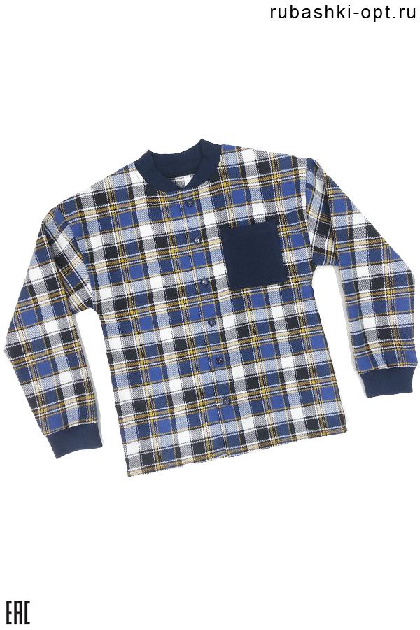 Рубашка детская, подростковая, фуле, модель 02