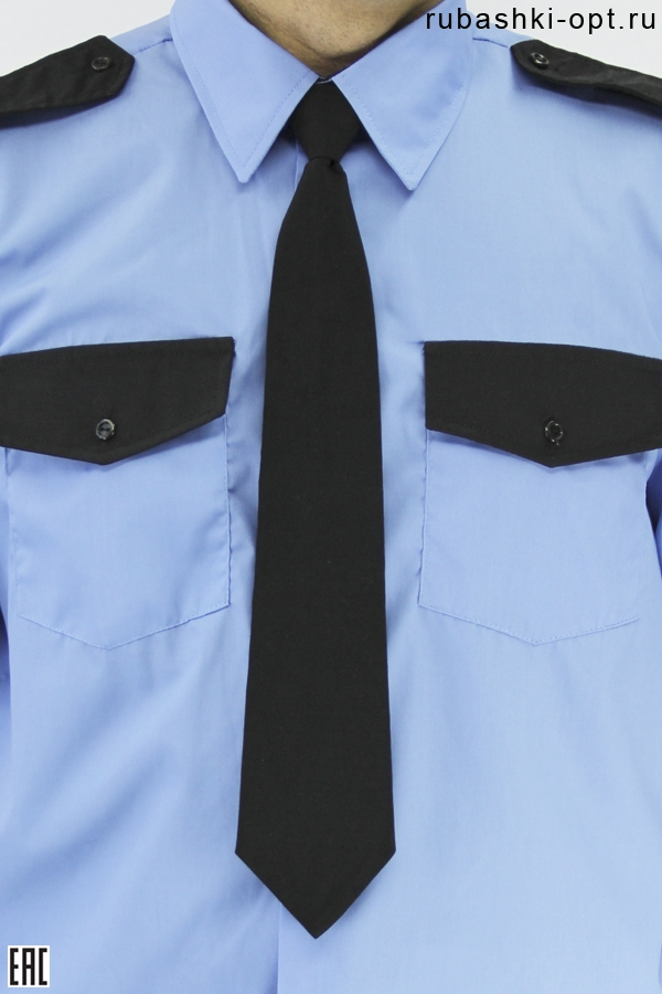 Галстук для охранника, черный